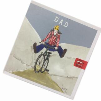 Dad Birthday Card - Bike