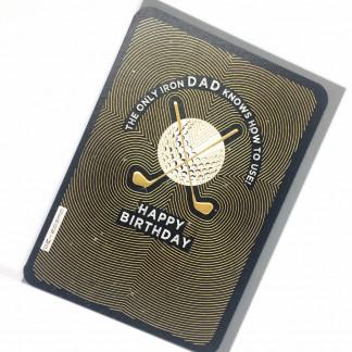 Dad Birthday Card - Iron
