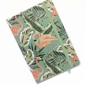 Flamingo Notebook - Lined