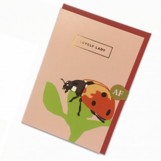 Friend Card - Lovely Lady
