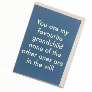 Grandchild Birthday Card - Will