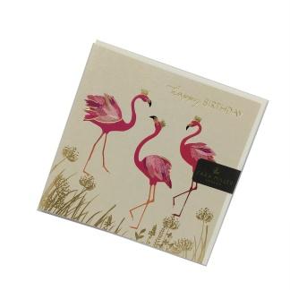 Happy Birthday - Flamingo Crowns