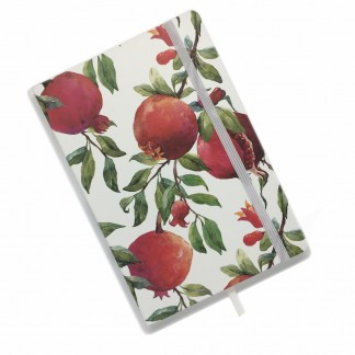Pomegranate Notebook - Lined