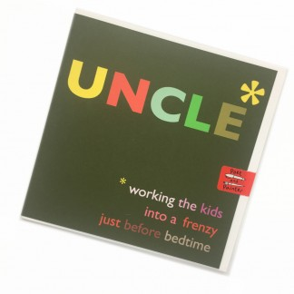 Uncle Birthday Card - Frenzy