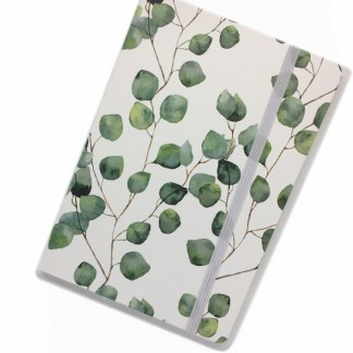 eucalyptus notebook - lined