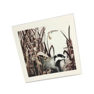 8th Birthday Card - Fox