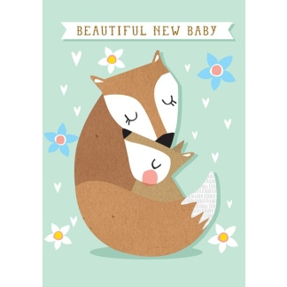 1st Birthday Card - Koala