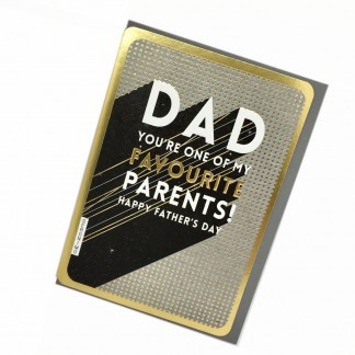 Fathers Day Card - Favourite Parents
