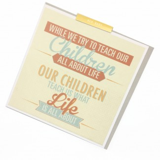 New Baby Card - Teach Our Children