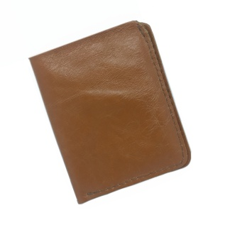 Leather Wallet - Medium Brown