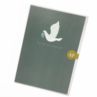 Sympathy Card - Dove