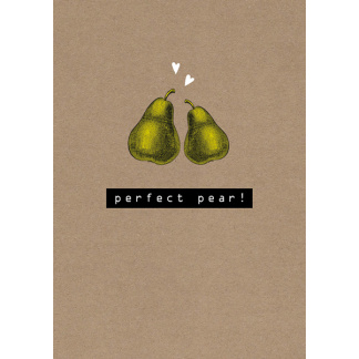 Anniversary Card - Perfect Pear