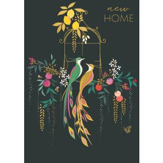 New Home Card - Birds