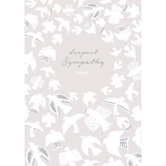Sympathy Card - Doves