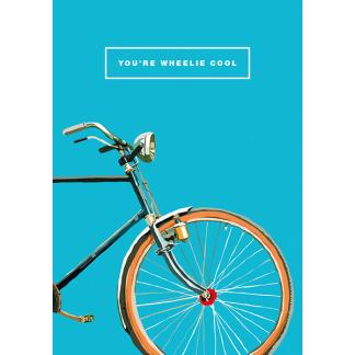 Birthday Card - Wheelie Cool