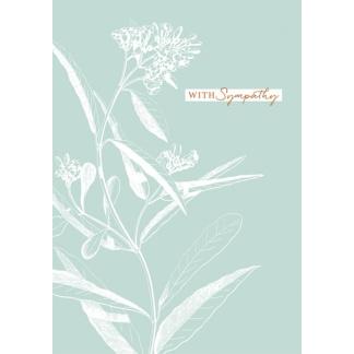 Sympathy Card - Sage Green