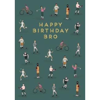 Brother Birthday Card - Bro