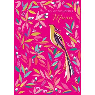 Mother's Day Card - Bird