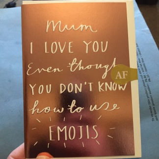 Mother's Day Card - Emojis