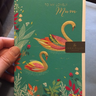 Mother's Day Card - Swans