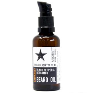 Black Pepper and Bergamot Beard Oil