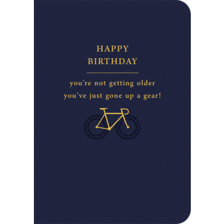 Birthday Card - Up a Gear