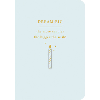 Birthday Card - Dream Big