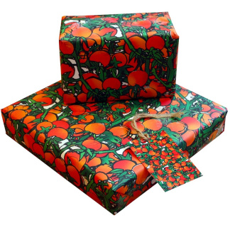 Wrapping Paper - Tomatoes and Vines