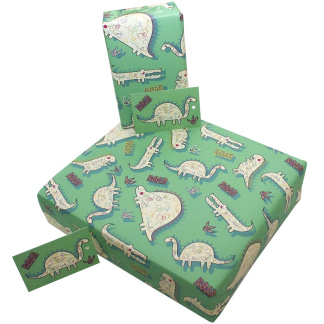 Wrapping Paper - Children's Dinosaur