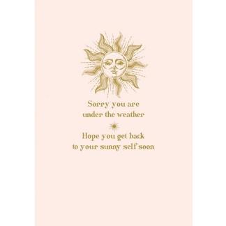 Get Well Card - Sunny Self