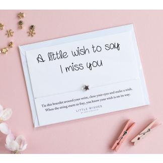 Little Wish Miss You Bracelet