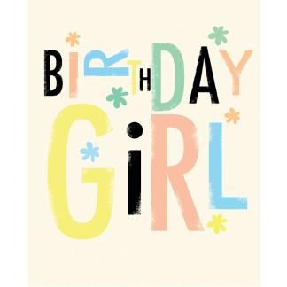 Birthday Card - Birthday Girl