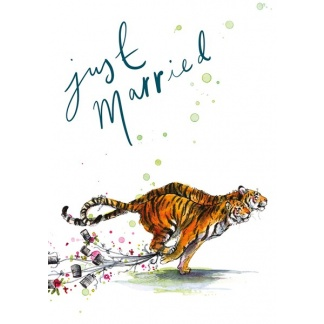 Wedding Card - Tigers