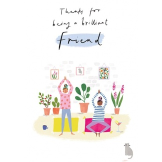 Friend Card - Yoga