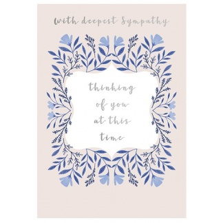 Sympathy Card - Thinking of You