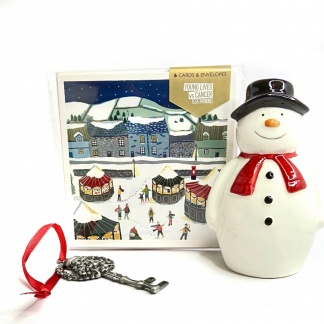 Charity Christmas Card Pack - Christmas Market