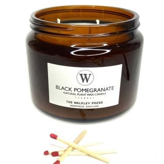 Black Pomegranate Candle 500ml