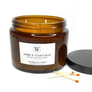 Amber & Tonka Bean Candle